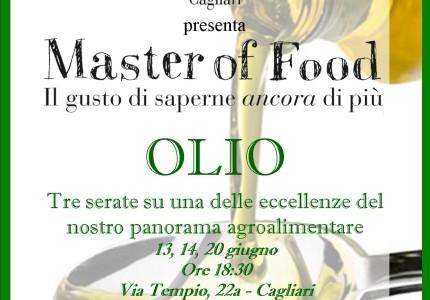 Ritorna a Cagliari il Master of Food sull'Olio, per il gusto di saperne di più