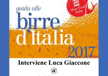 Slow Food Cagliari, con Luca Giaccone, presentano la Guida Birre 2017 al Setar Hotel, Quartu S.E. domenica 19 giugno alle 17